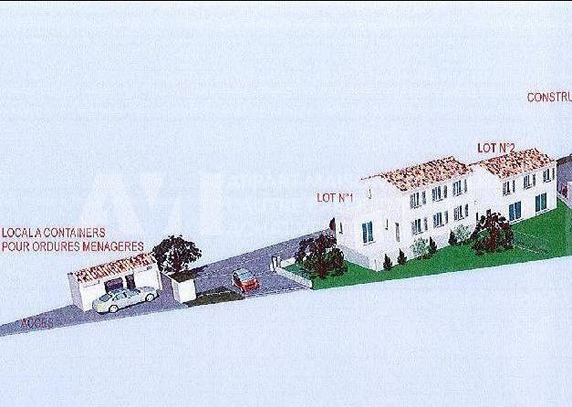 Terrain constructible viabilisé à 175000 €