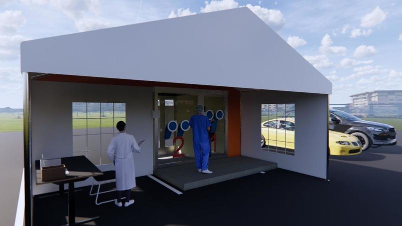 Un architecte a conçu ces cabines de test pour le coronavirus