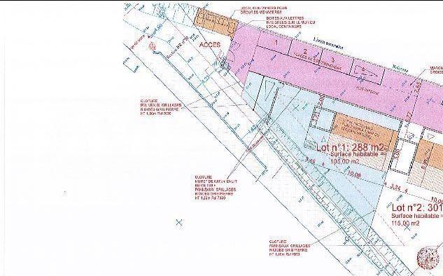 Terrain constructible viabilisé à 180000 €